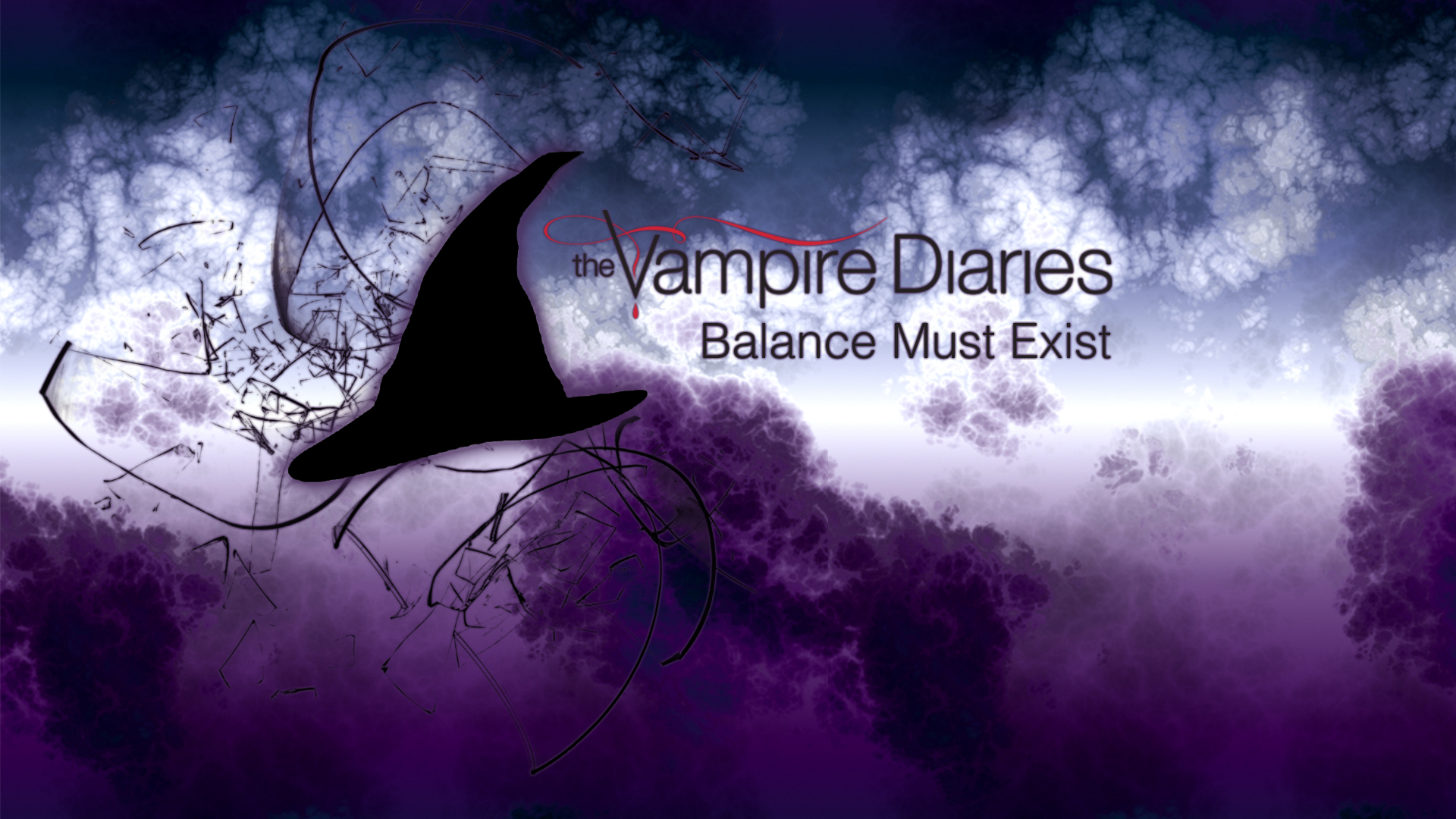 The Vampire Diaries Wallpaper Series The Vampire Diaries - Vampire Diaries Logo Backgrounds , HD Wallpaper & Backgrounds