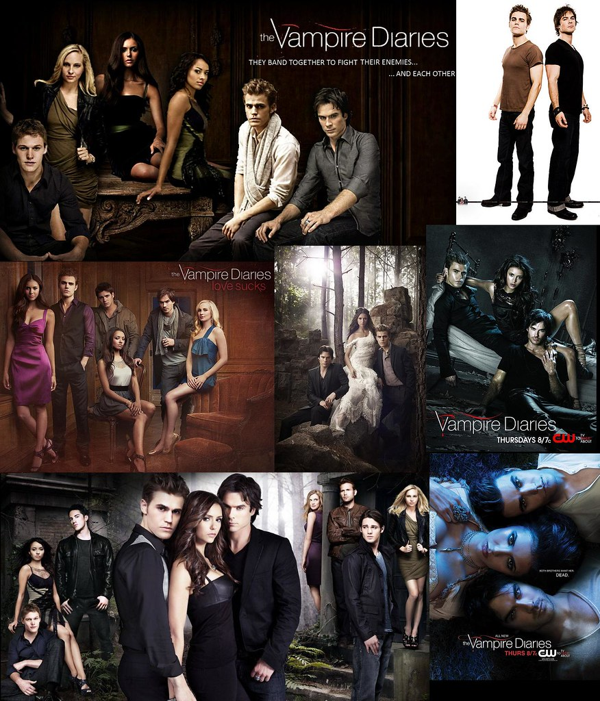 Vampire Diaries Wallpaper All Characters From Vampire