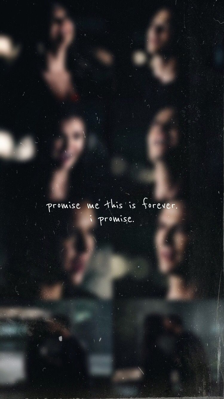 The Vampire Diaries Wallpaper In Tvd Promise Me This Is Forever