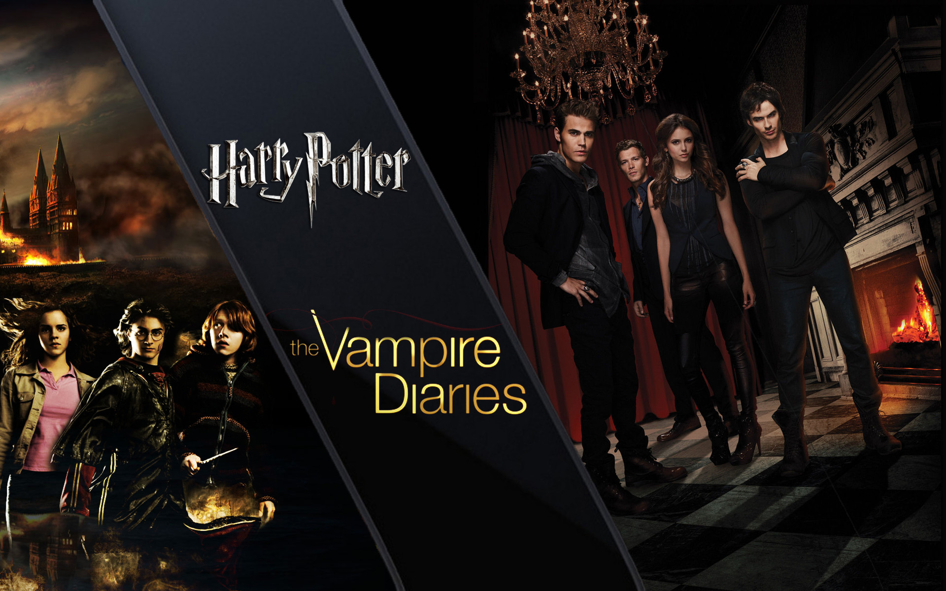 Elena Gilbert - Vampire Diaries Tv Poster , HD Wallpaper & Backgrounds