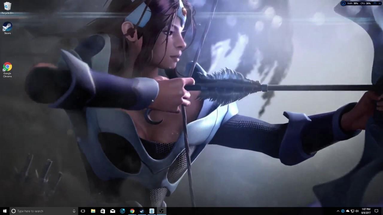 Dota 2 Animated Desktop Background Wallpaper - Pc Game , HD Wallpaper & Backgrounds
