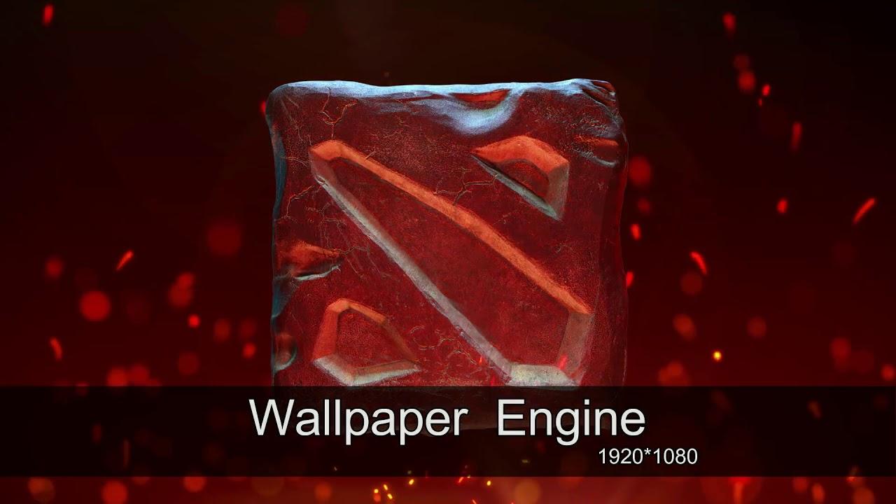 Dota 2 Wallpaper 1080p Dota 2 Logo 3d 1984728 Hd Wallpaper