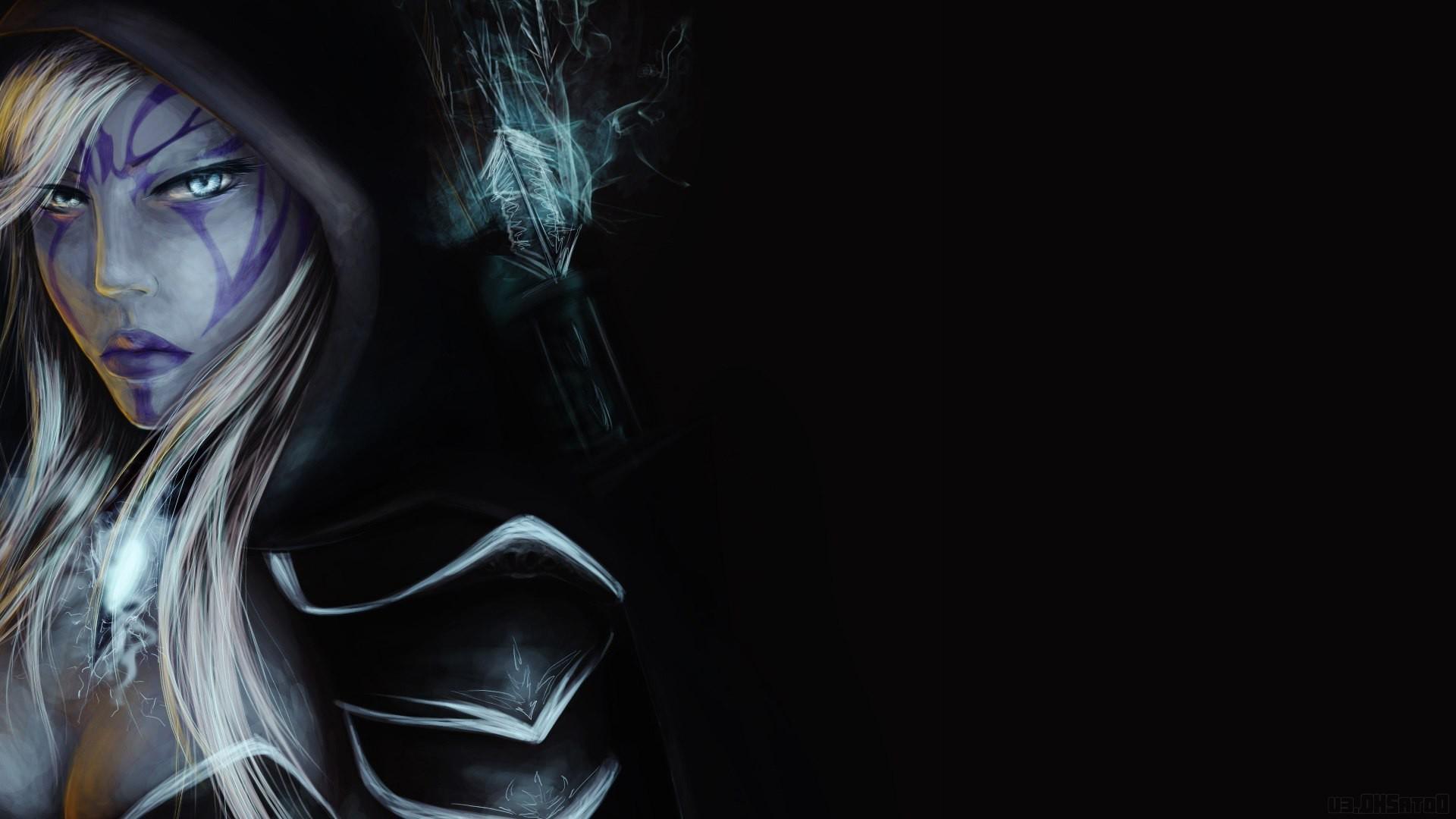 Dota, Dota 2, Defense Of The Ancient, Valve, Valve - Dota 2 Hero Drow , HD Wallpaper & Backgrounds