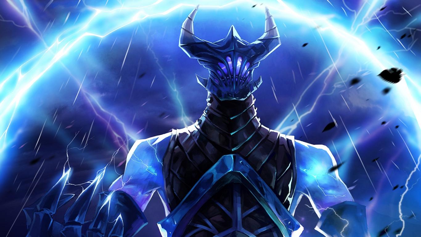 Hd Background Razor Dota 2 Lightning Revenant Game Dota 2