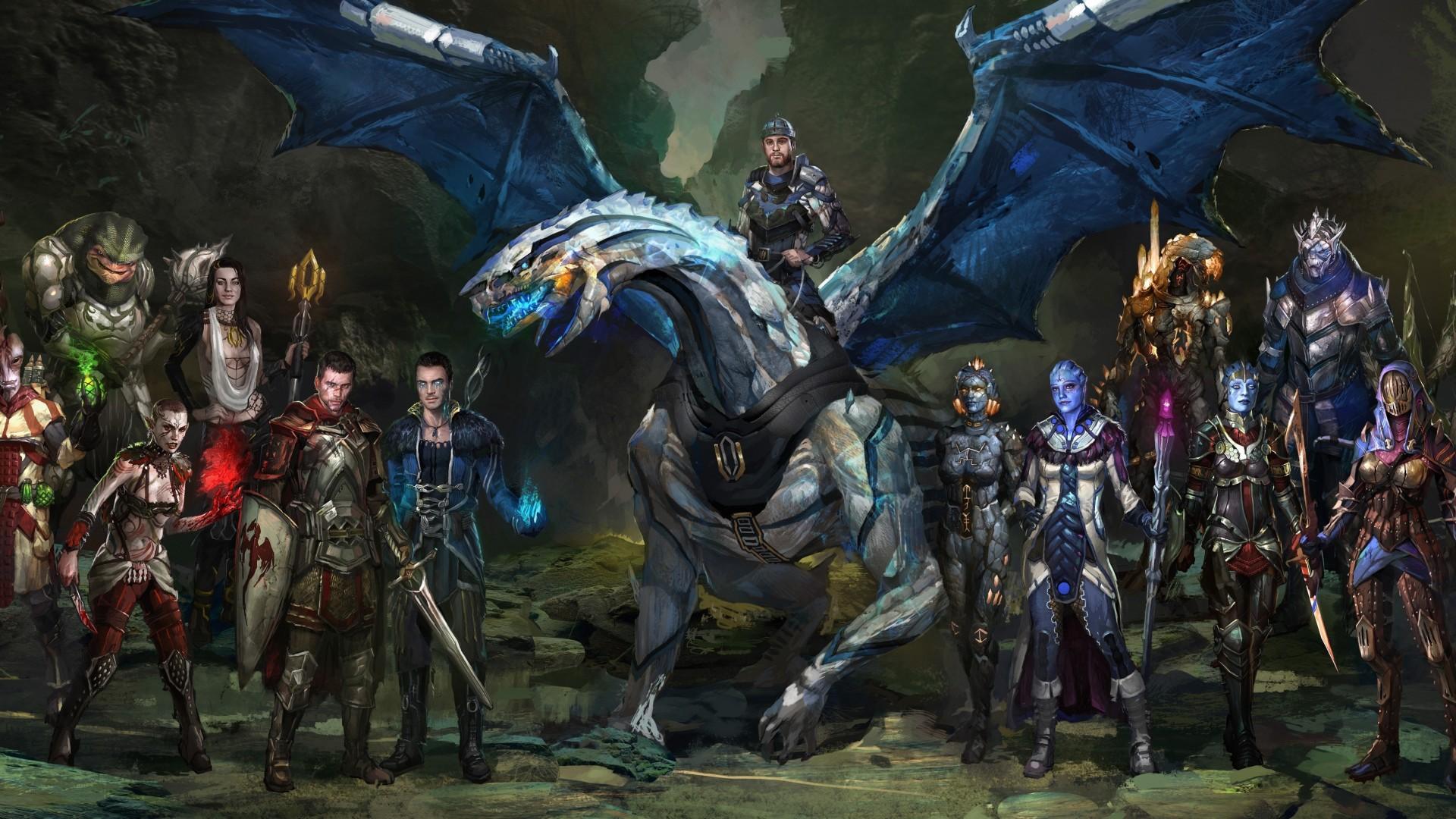 Download Wallpaper Mass Effect Dragon Age 1985257 Hd