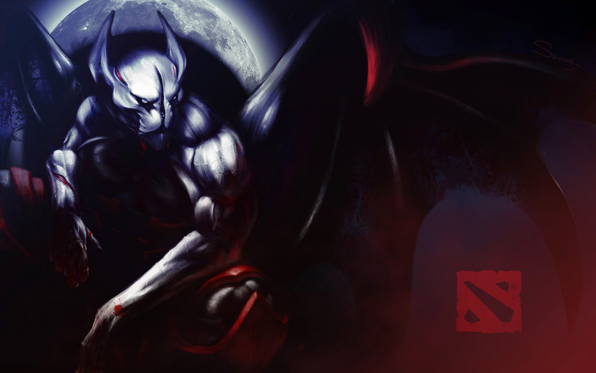 Nigh Stalker Dota 2 Hd Wallpaper Night Stalker Dota 2 Hd 1985384 Hd Wallpaper Backgrounds Download