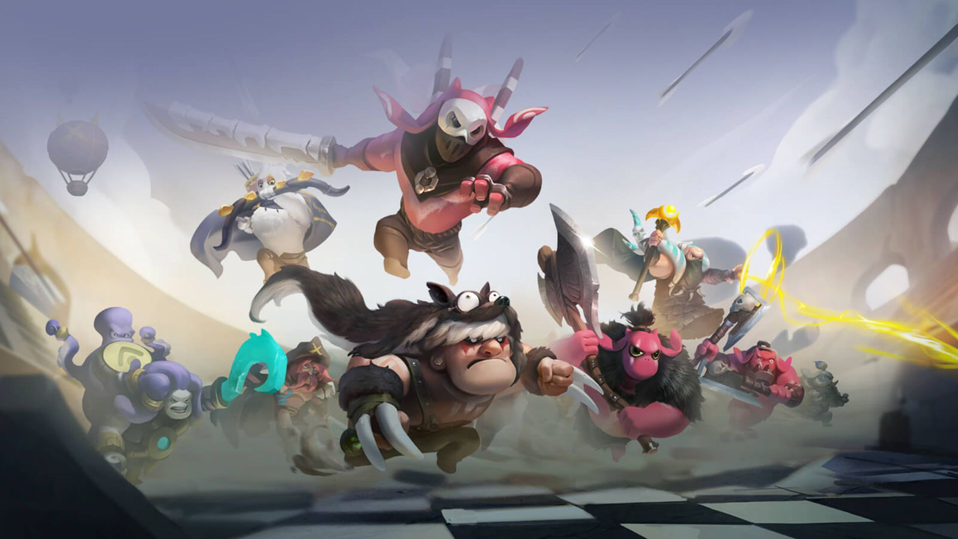 Dota Auto Chess Splits From Dota 2 For Mobile Release - Dota Auto Chess Mobile , HD Wallpaper & Backgrounds