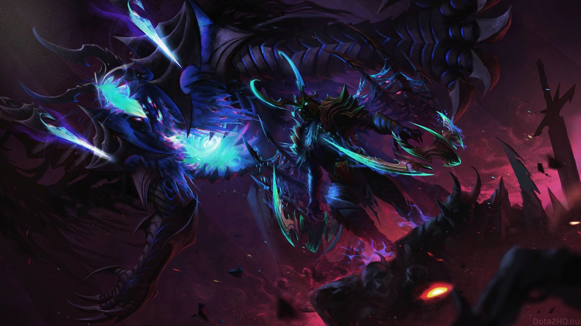 Dota 2 Terrorblade Wallpaper For Pc Terrorblade Dota 2