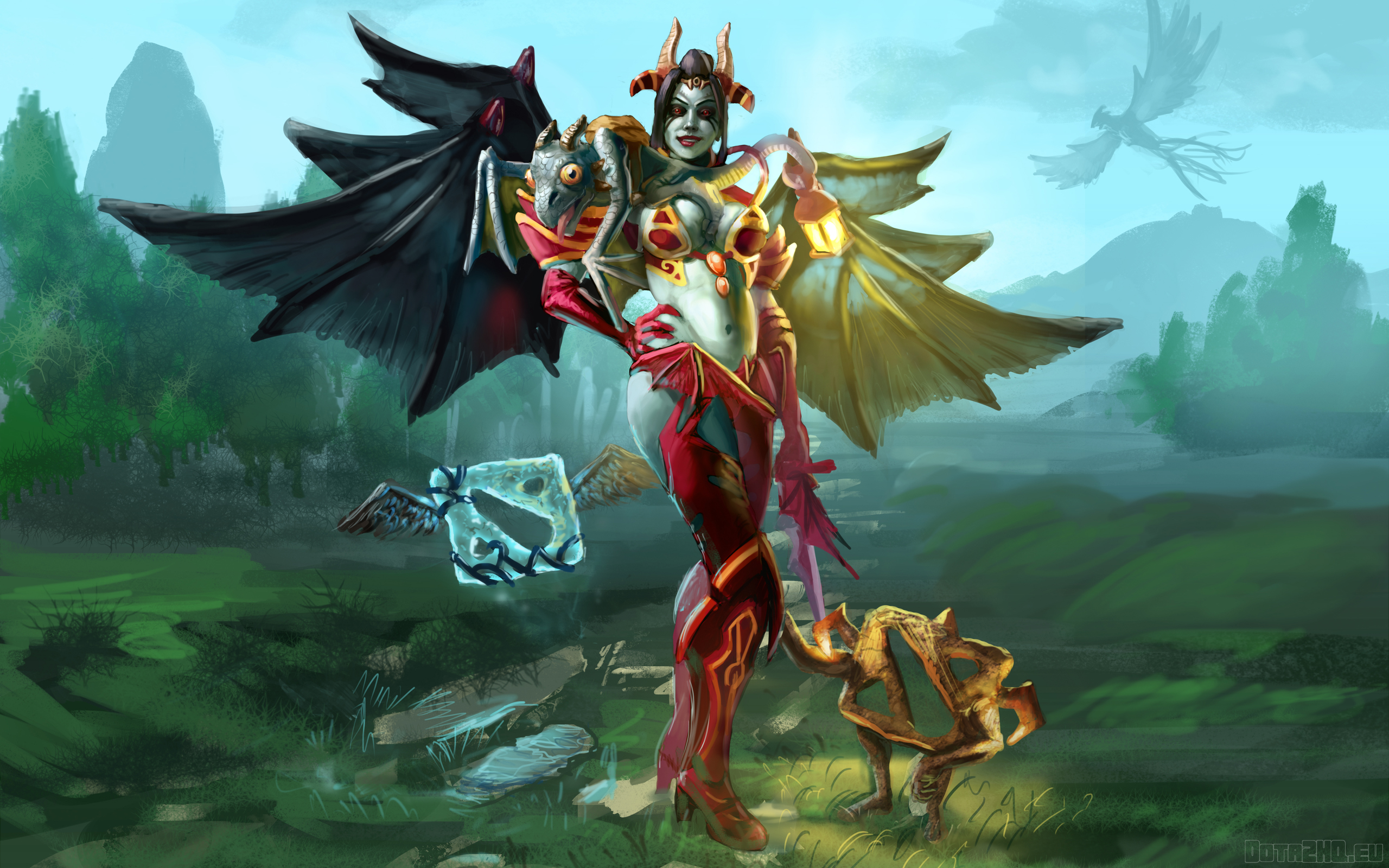 Akasha Queen Of Pain Dota 2 Akasha Queen Of Pain 1986440