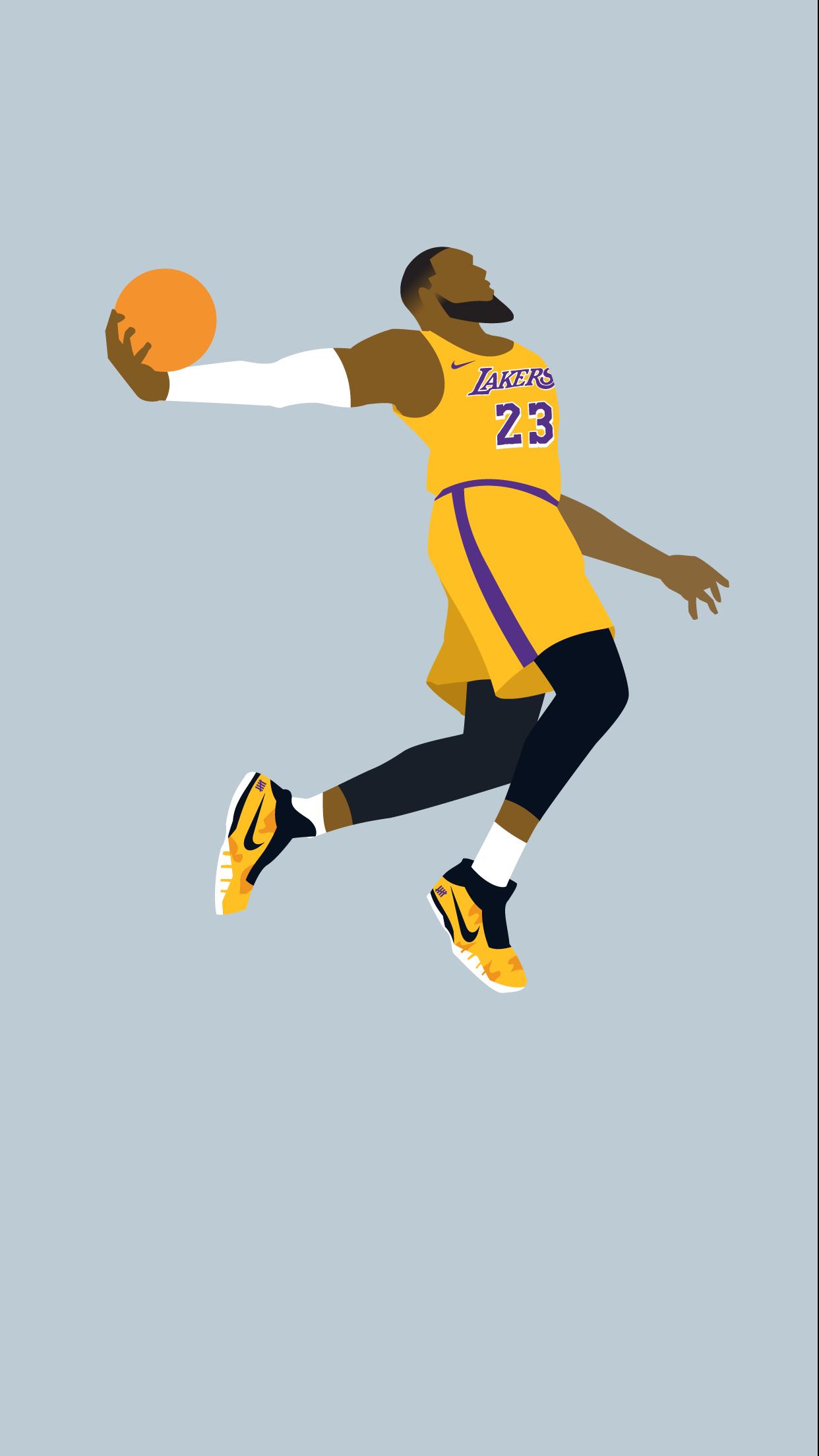 Lebron James Lakers Wallpaper Iphone , HD Wallpaper & Backgrounds
