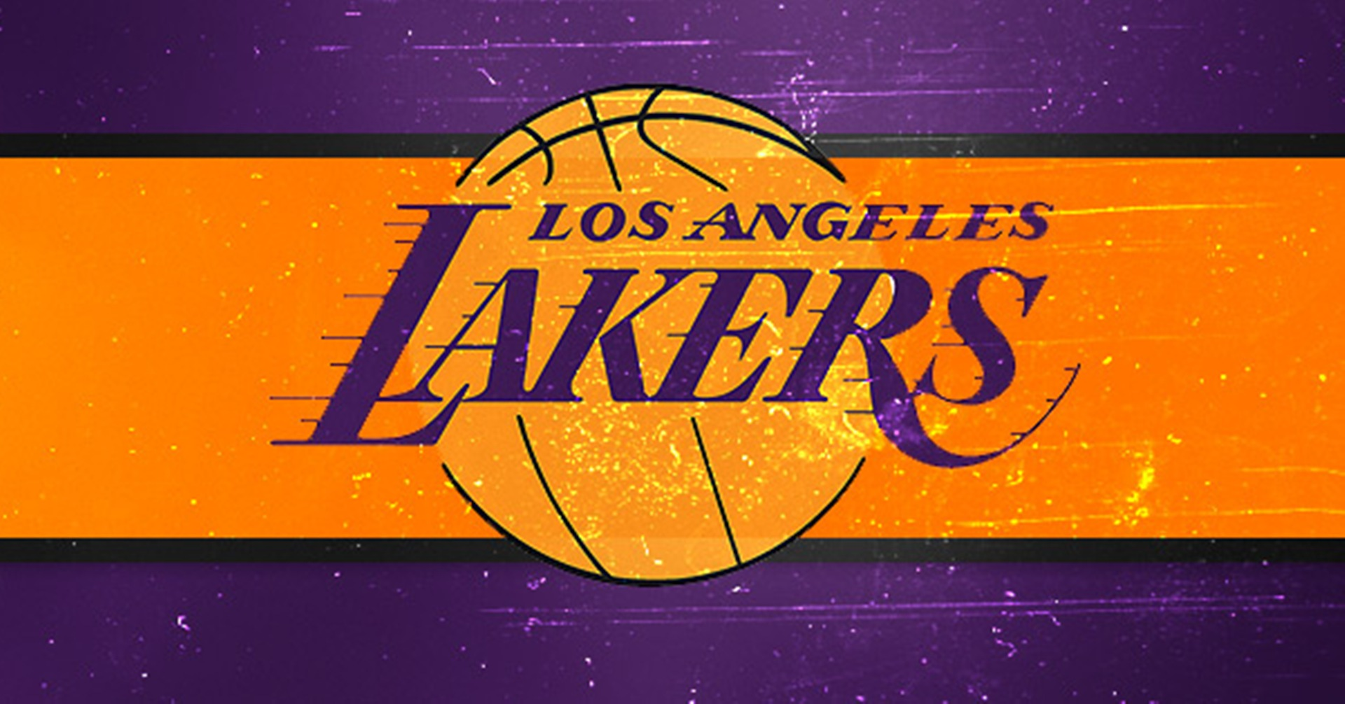 Lakers Basketball Wallpaper - Los Angeles Lakers Background , HD Wallpaper & Backgrounds