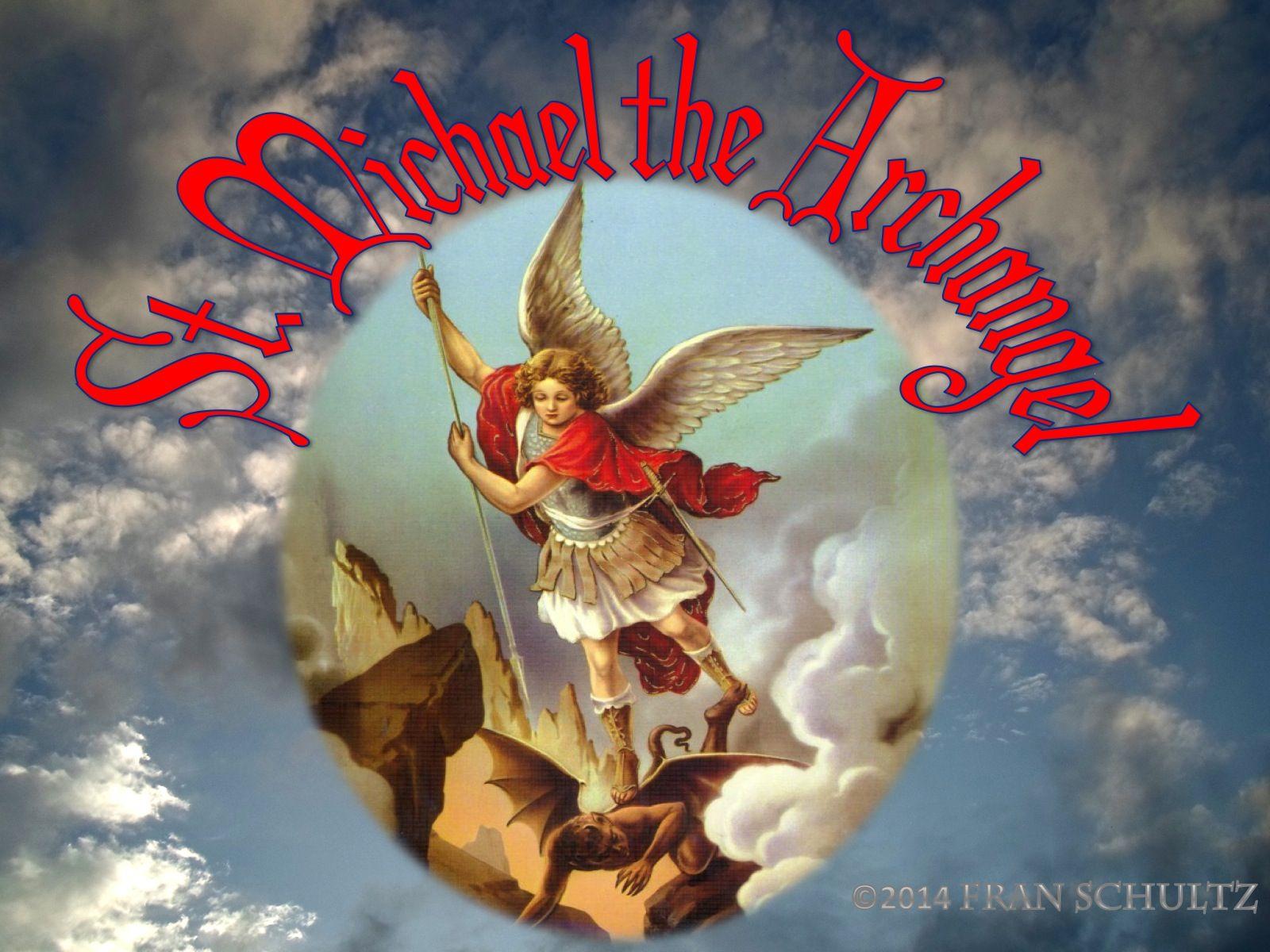 Images Of Saint Michael The Archangel Wallpaper Oracion A