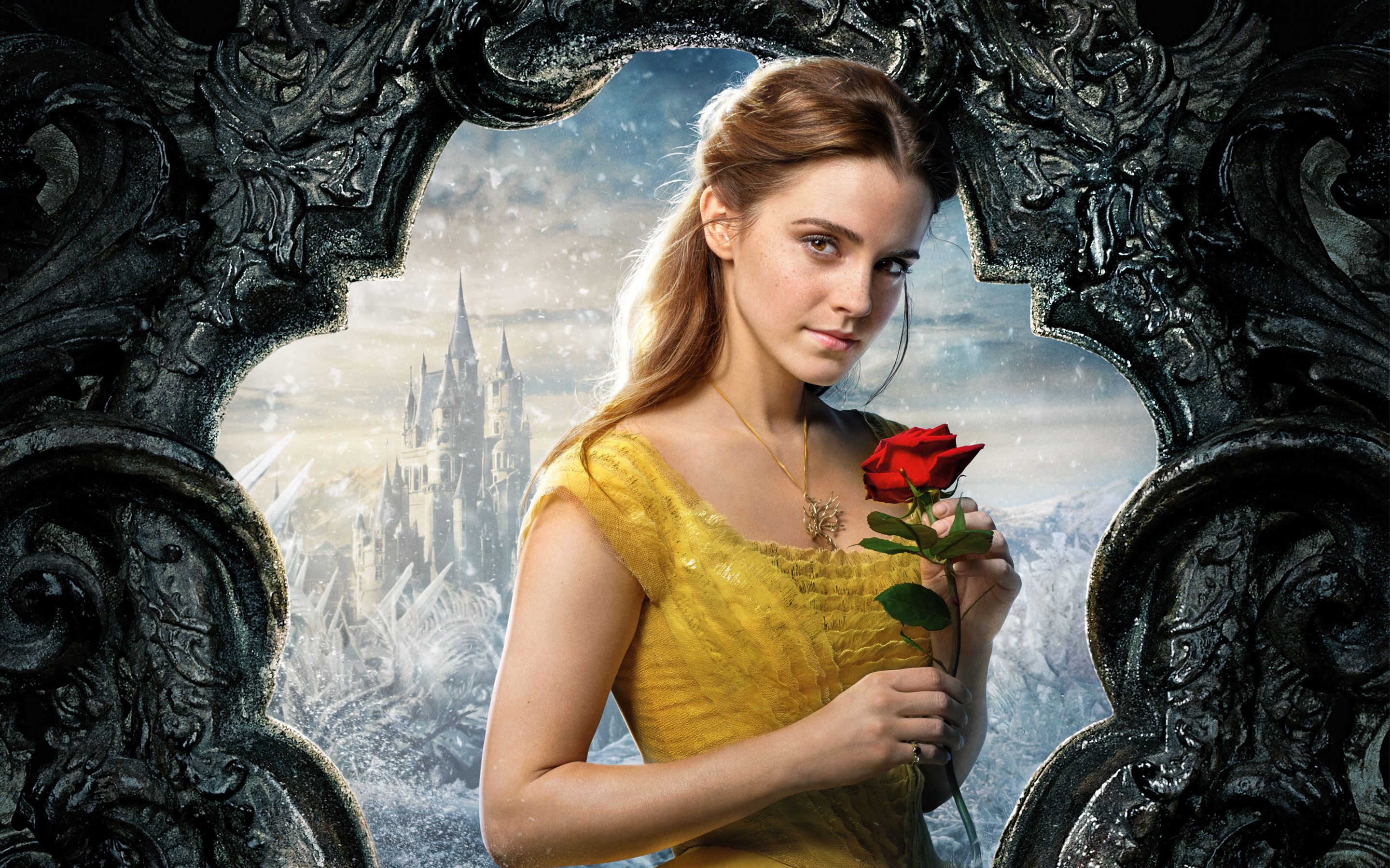 Belle Beauty And The Beast Emma Watson 5k Wallpapers Beauty And