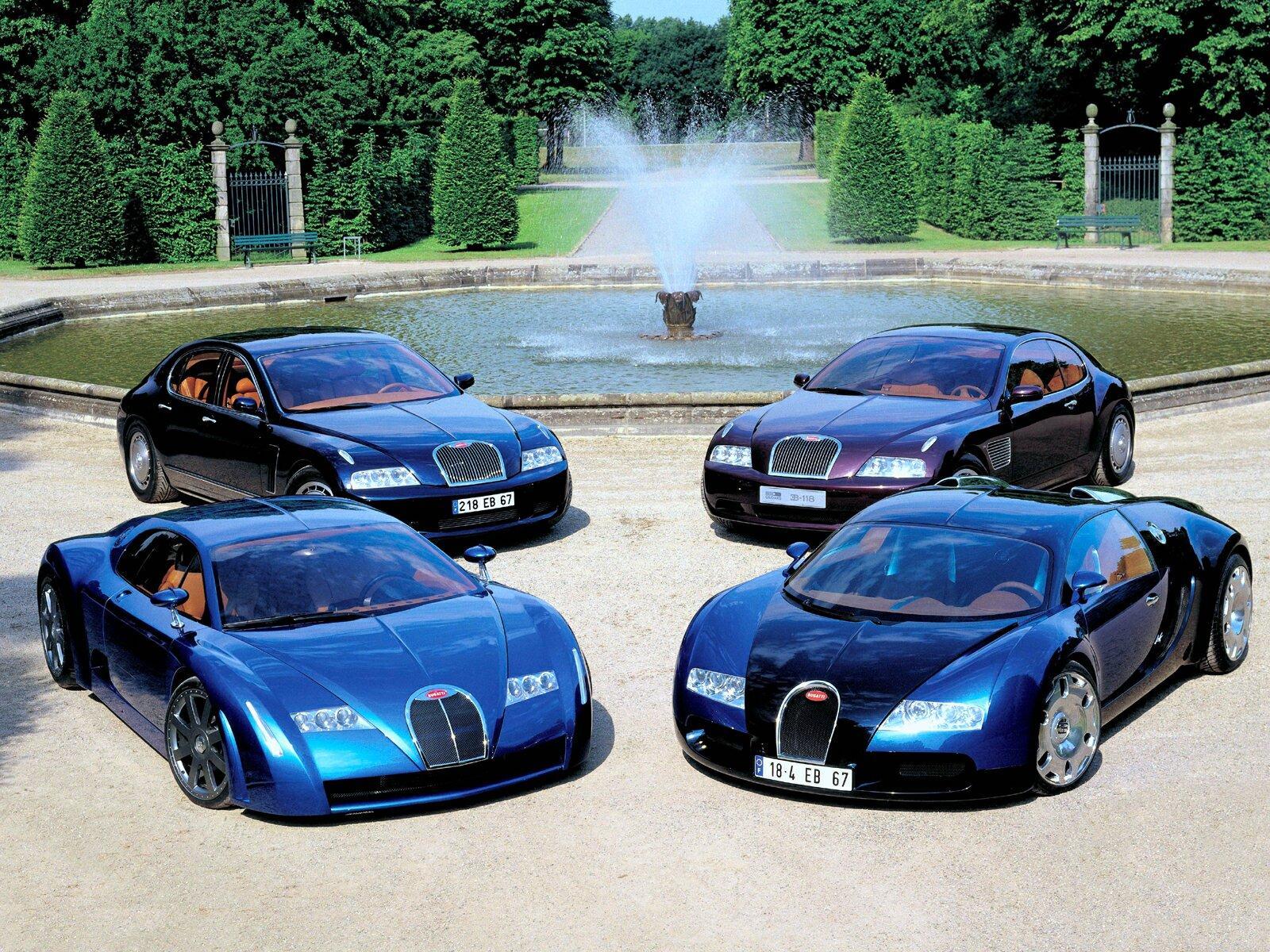 Bugatti - Bugatti Veyron 1999 , HD Wallpaper & Backgrounds