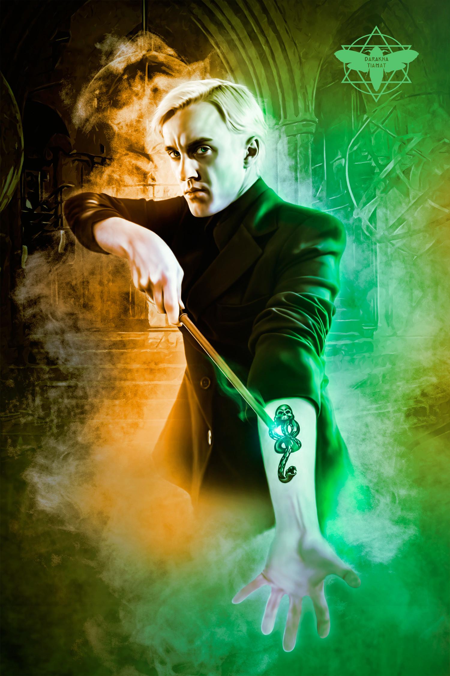 Tom Felton As Draco Malfoy - Slytherin Wallpaper Draco ...