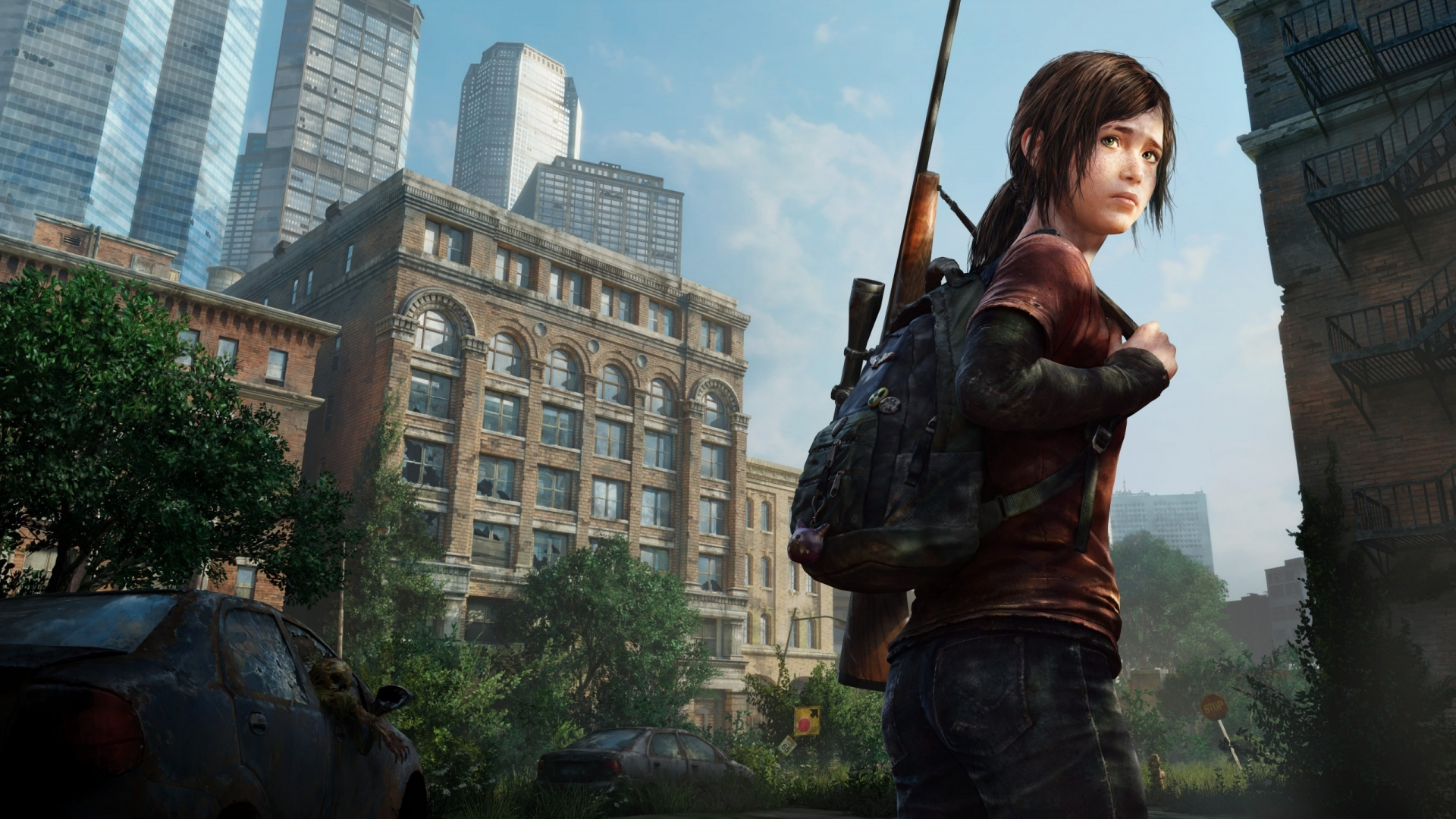 More Games Desktop Wallpapers - Last Of Us Remastered Ellie , HD Wallpaper & Backgrounds