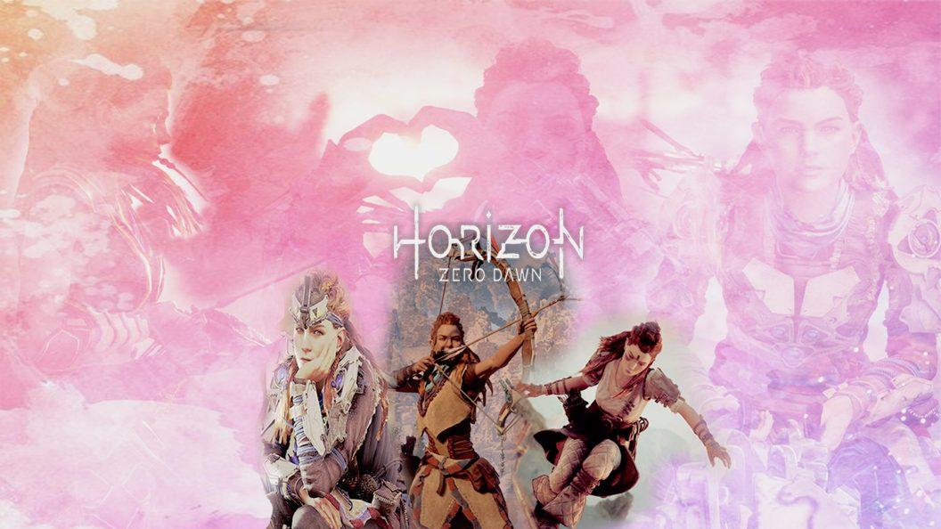 Aloy - Horizon Zero Dawn Wallpaper Aloy Anime , HD Wallpaper & Backgrounds