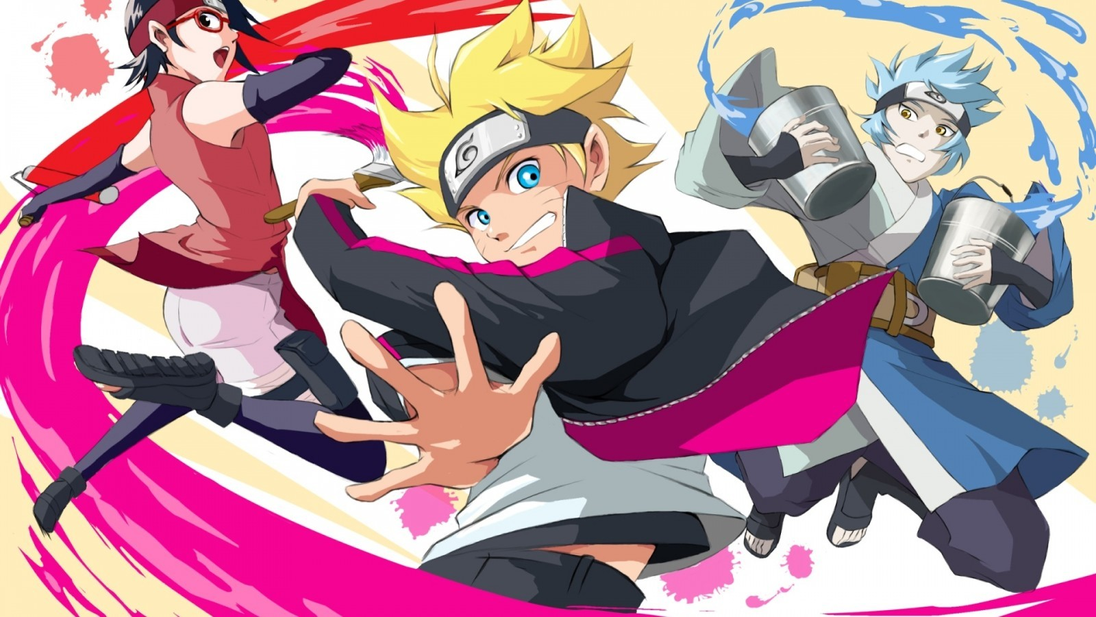 Kawaki Vs Boruto - Boruto Naruto Next Generations , HD Wallpaper & Backgrounds