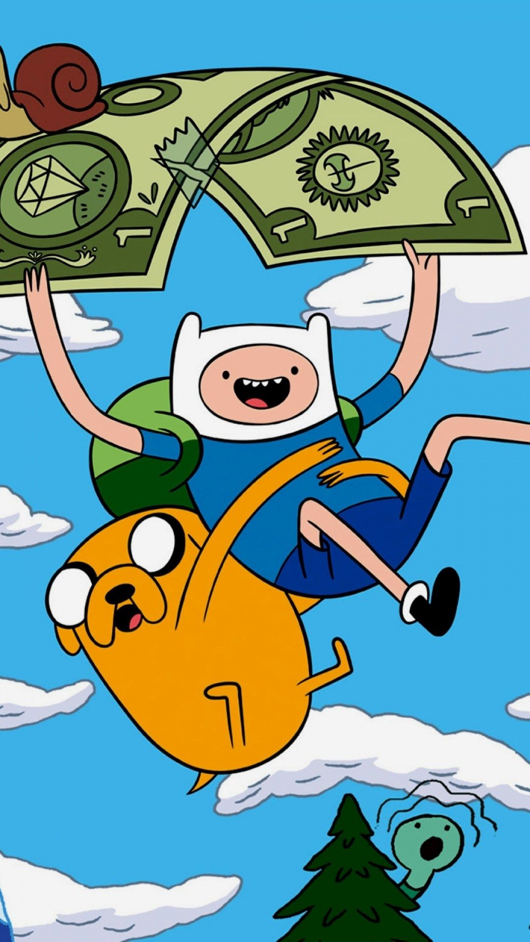 Adventure Time Wallpaper Iphone - Adventure Time Wallpaper Hd Android , HD Wallpaper & Backgrounds