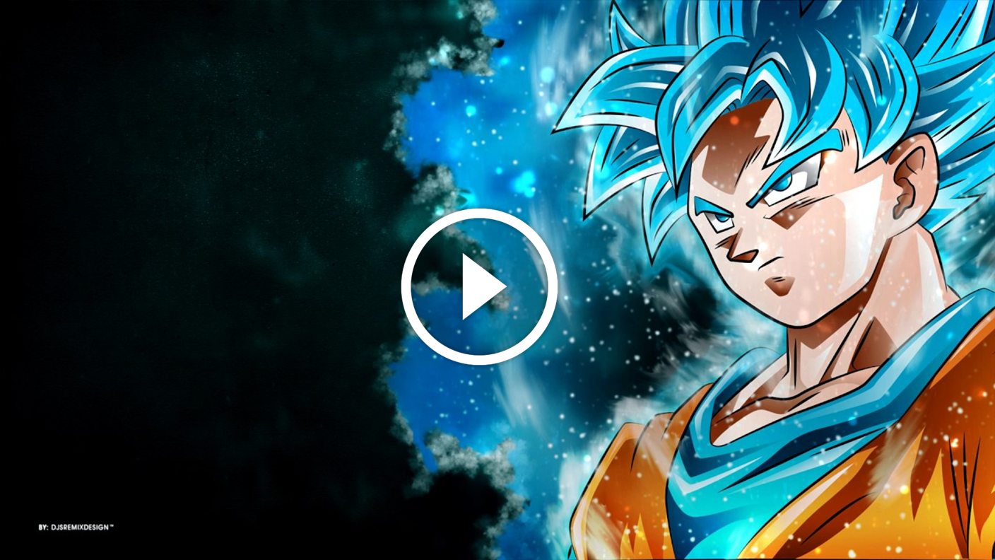 ¡increíbles Fondos De Pantalla Animados De Dragon Ball - Super Saiyan Blue Wallpaper Hd , HD Wallpaper & Backgrounds