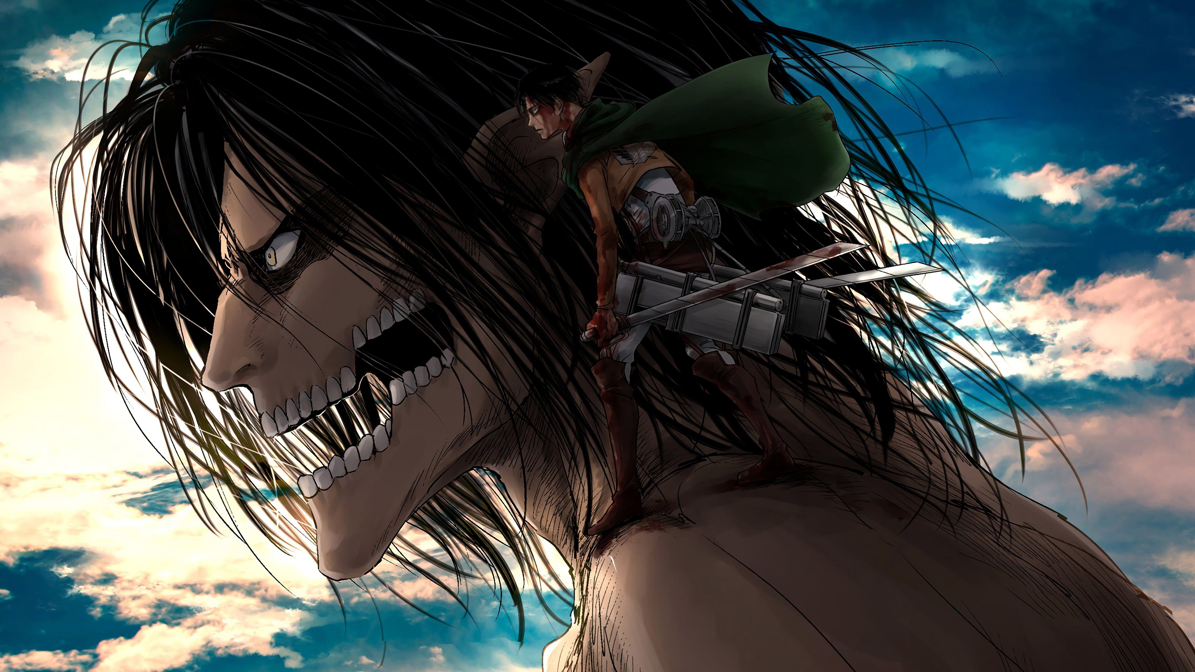 Attack On Titan 4k Ultra Hd Wallpaper Attack On Titan Levi Hd