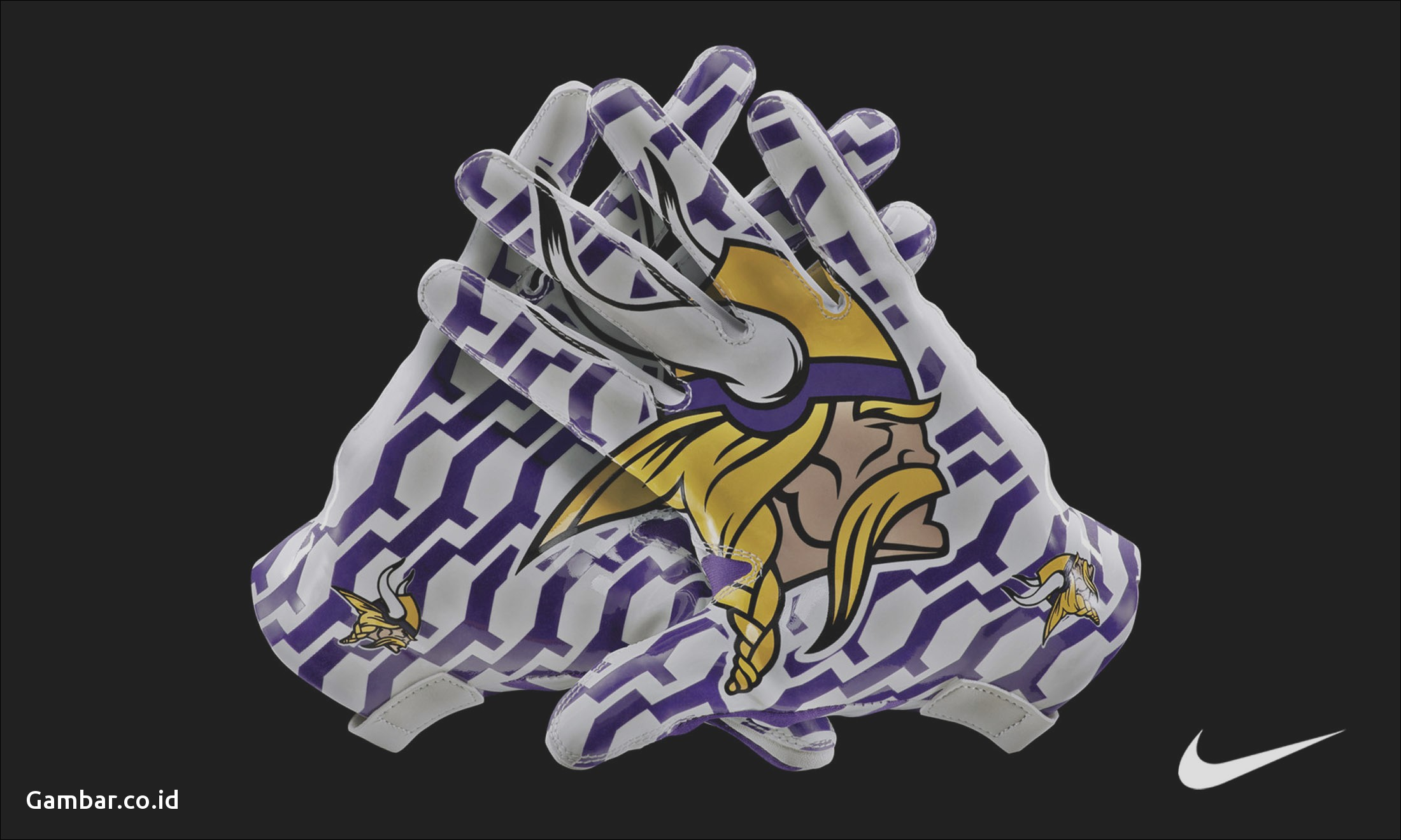 Wallpaper Logo Persib Minnesota Vikings HD