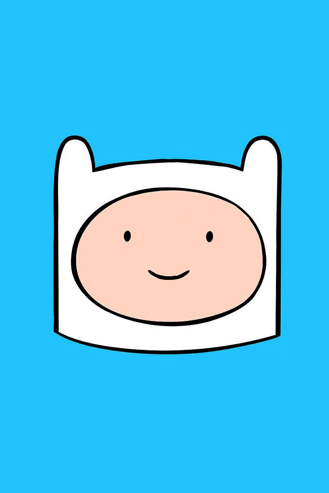 Adventure Time Iphone Wallpaper - Finn Adventure Time Background , HD Wallpaper & Backgrounds