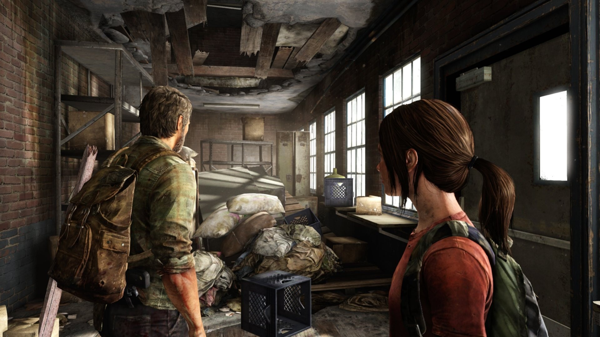 Last Of Us In Game , HD Wallpaper & Backgrounds