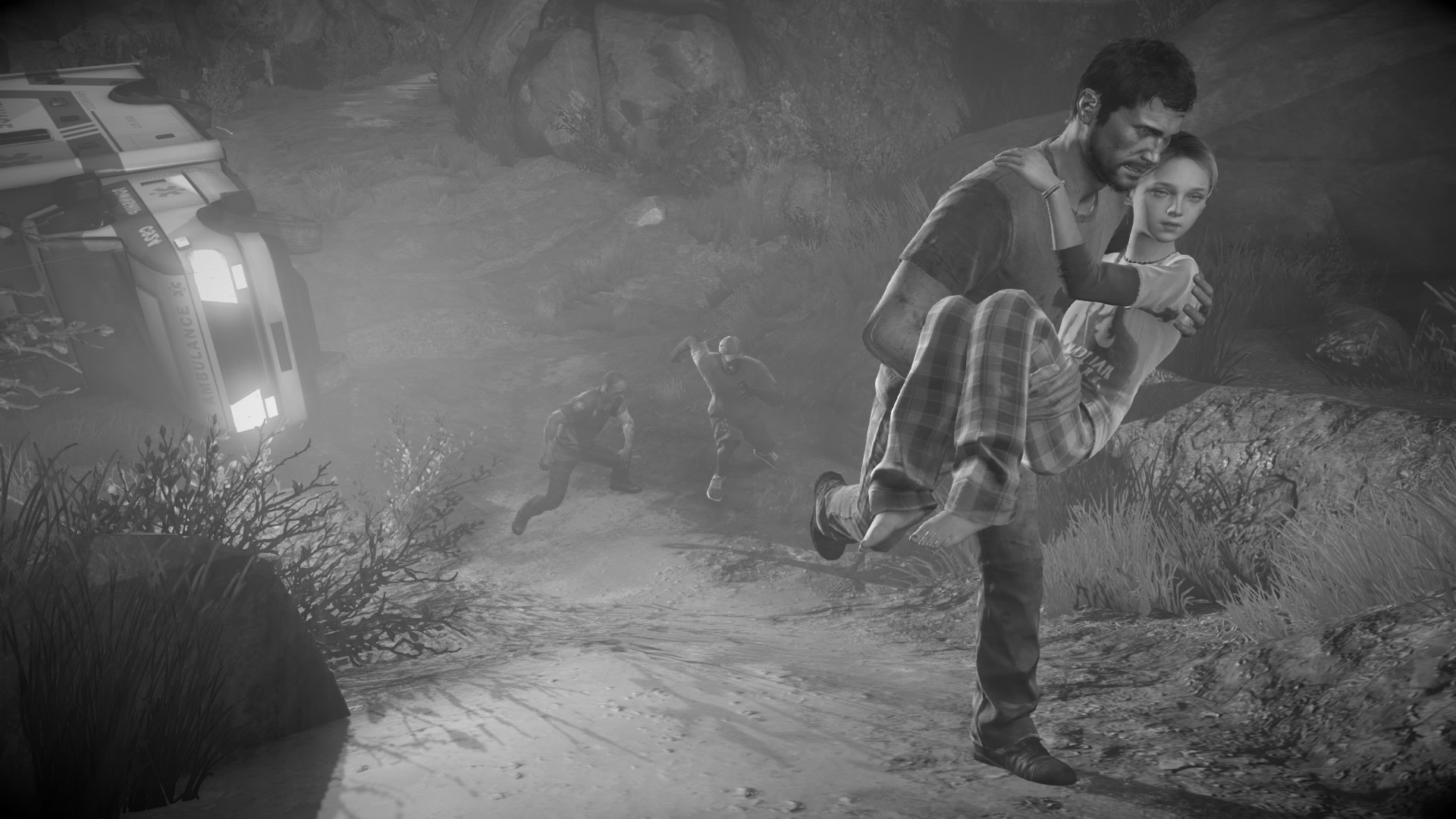 The Last Of Us Wallpaper 624596 - Last Of Us Wallpaper Black , HD Wallpaper & Backgrounds