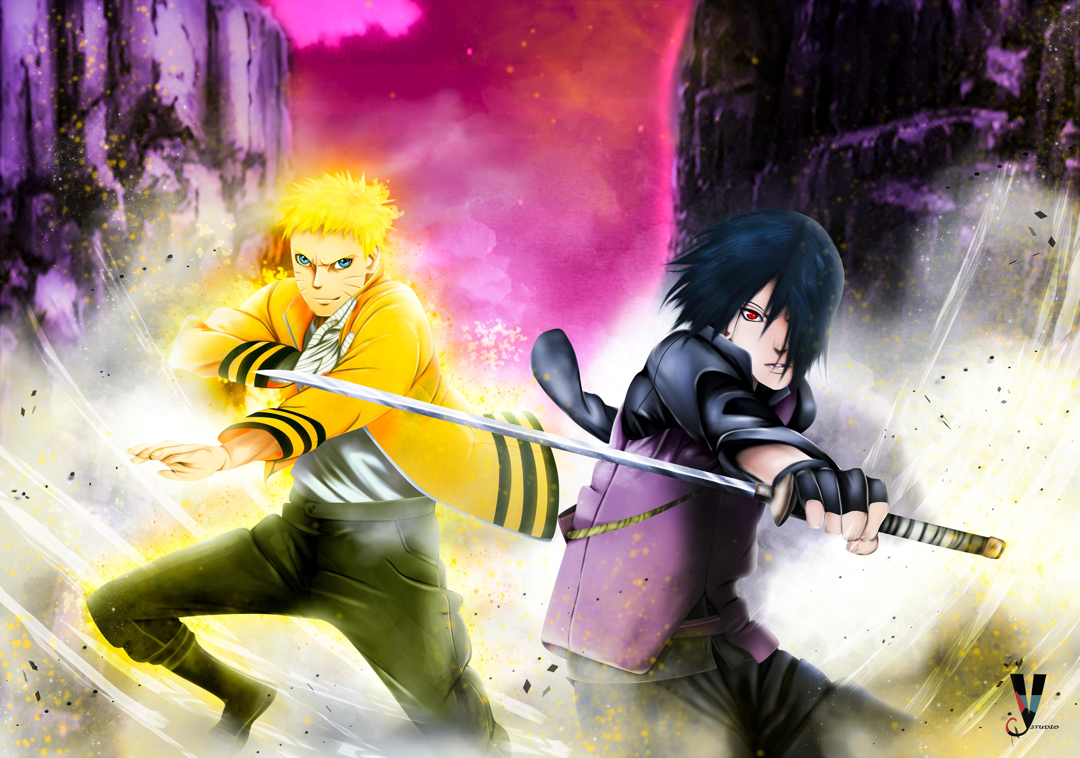 4k Naruto E Sasuke 21059 Hd Wallpaper Backgrounds Download