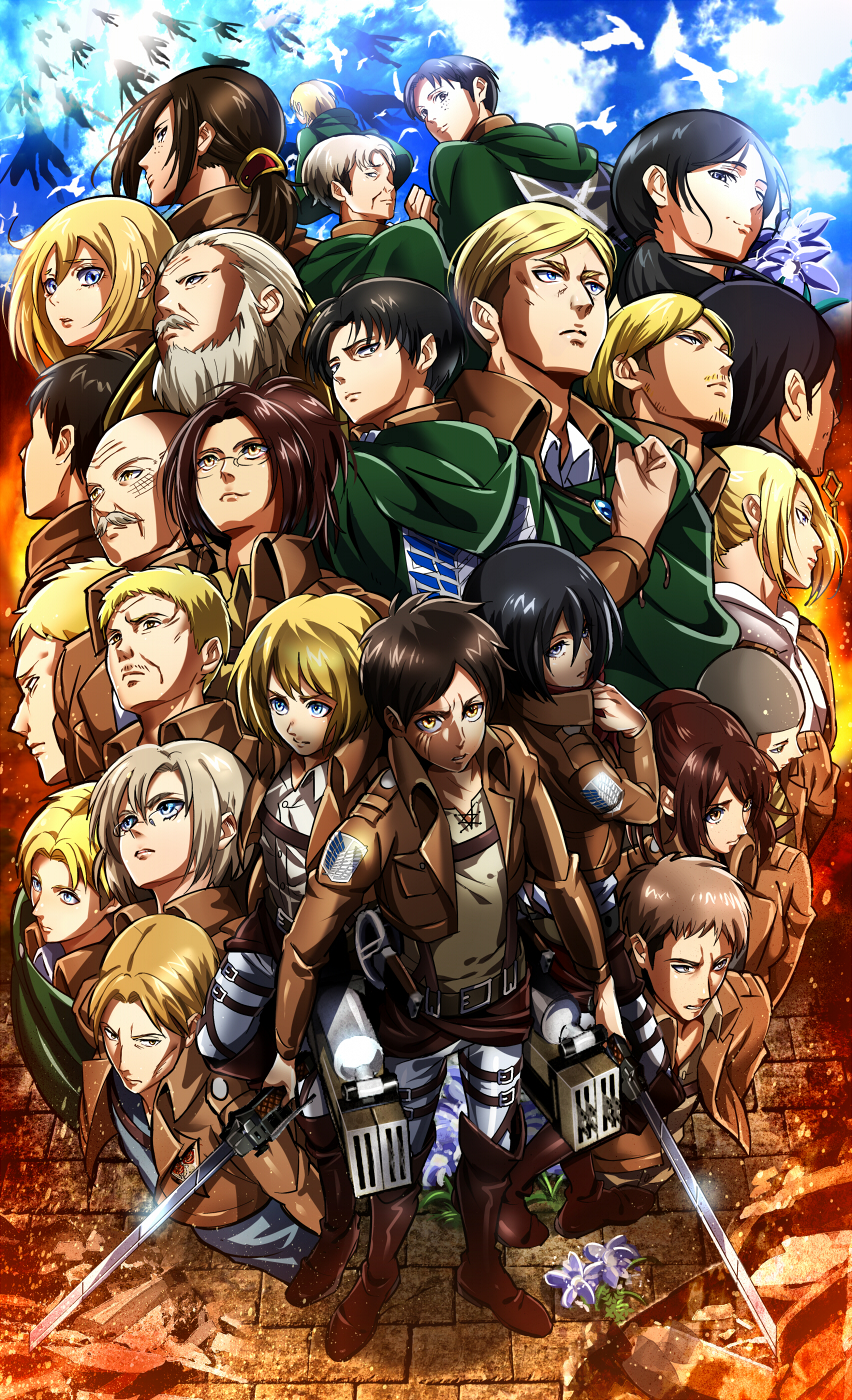 Attack On Titan 21160 Hd Wallpaper Backgrounds Download