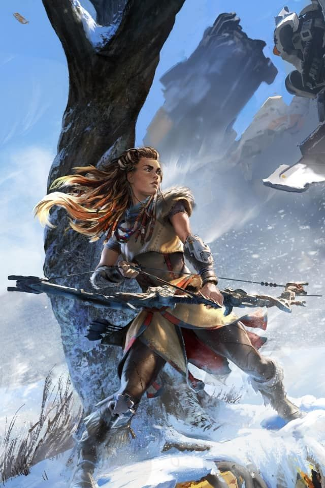 Horizon Zero Dawn Wallpaper Hd - Horizon Zero Dawn Phone , HD Wallpaper & Backgrounds