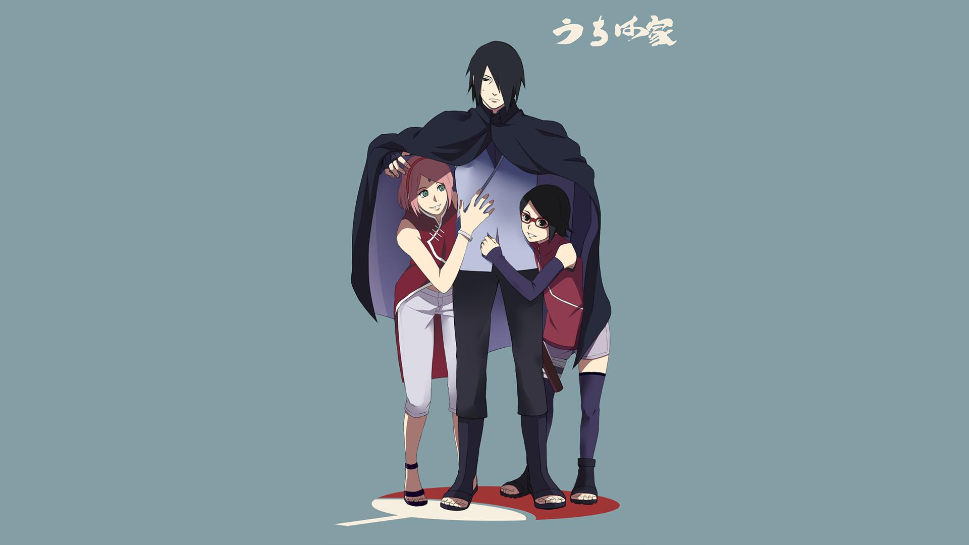 Sarada Wallpaper Fille De Sakura Et Sasuke 21441 Hd