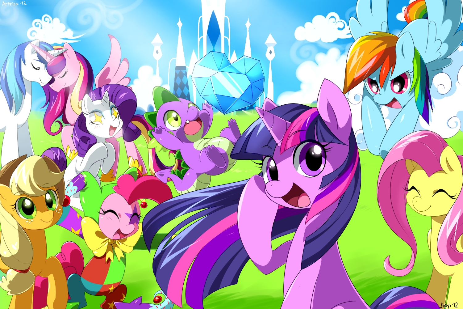 My Little Pony Friendship Is Magic Cartoon Hd Wallpaper My Little Pony Anime 21587 Hd Wallpaper Backgrounds Download
