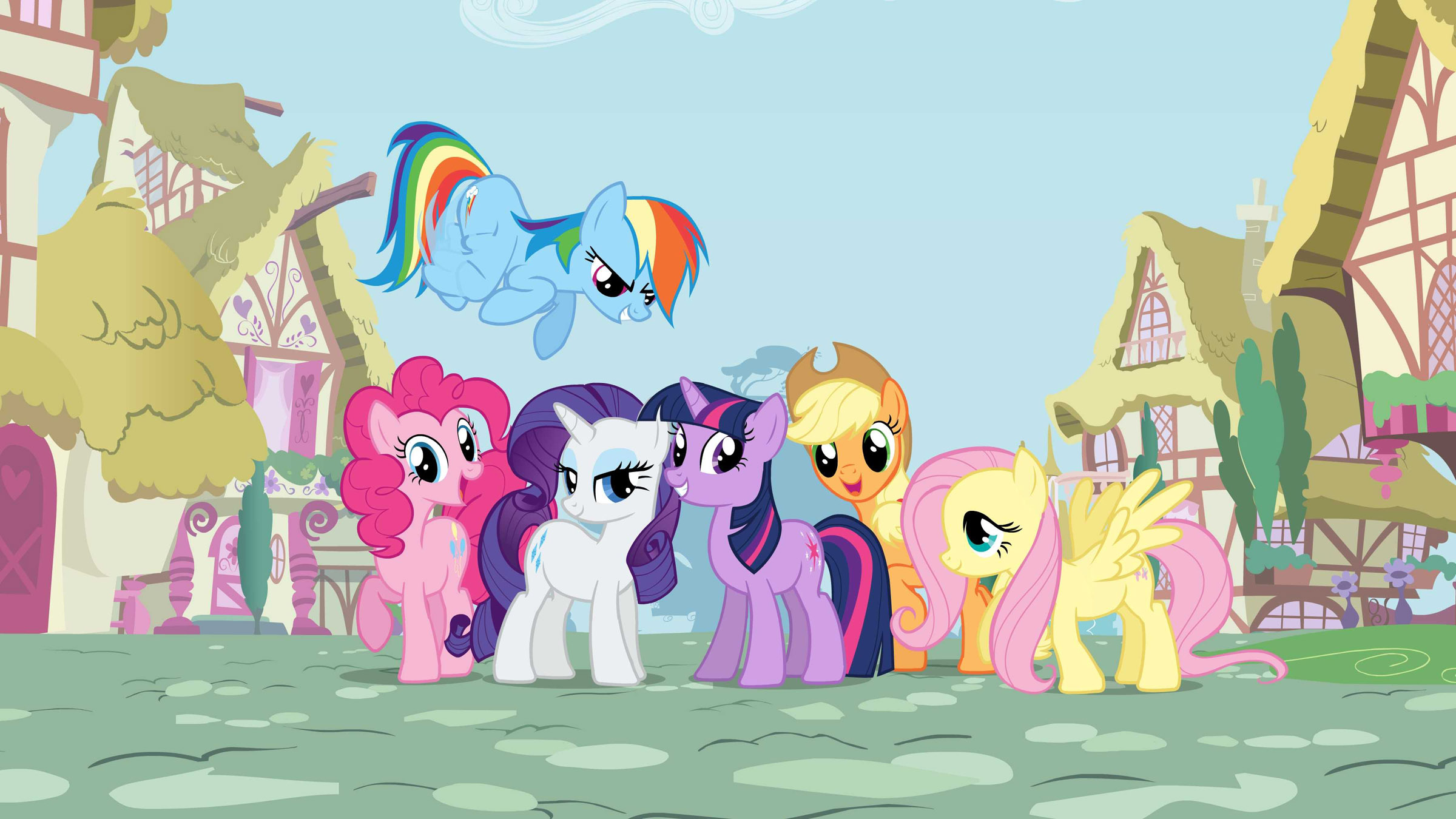 My Little Pony Wallpaper My Little Pony Friendship Is