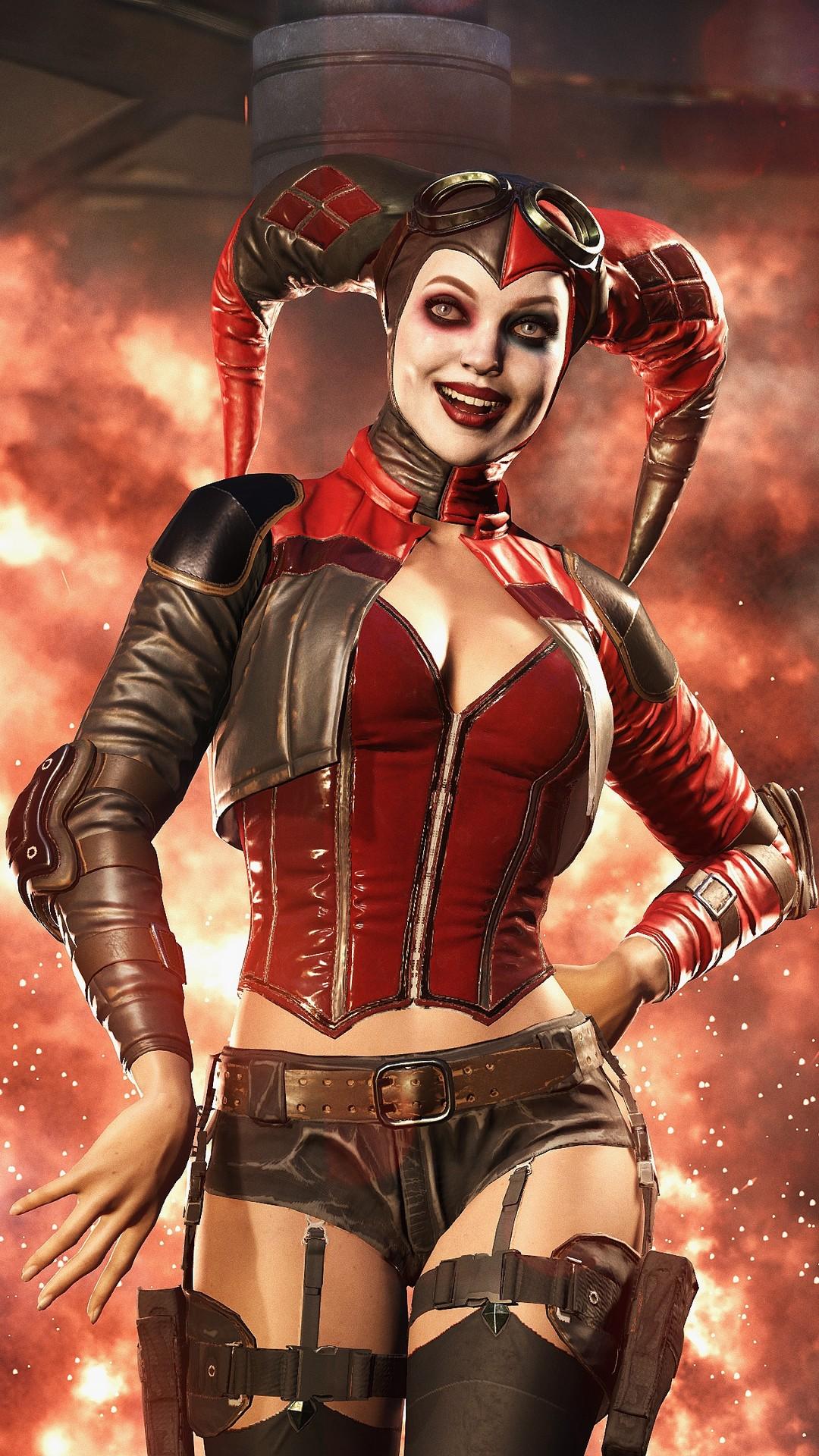 Start Download Harley Quinn Injustice 2 22123 Hd Wallpaper
