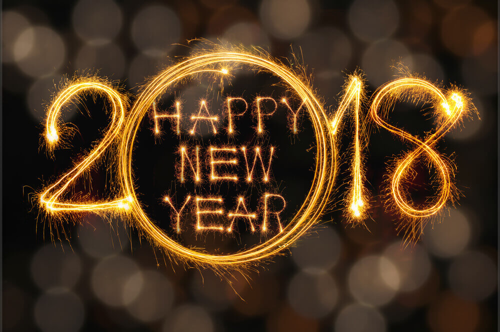 Happy New Year 2018 Wallpapers Images Hd - Advance Happy New Year 2018 , HD Wallpaper & Backgrounds