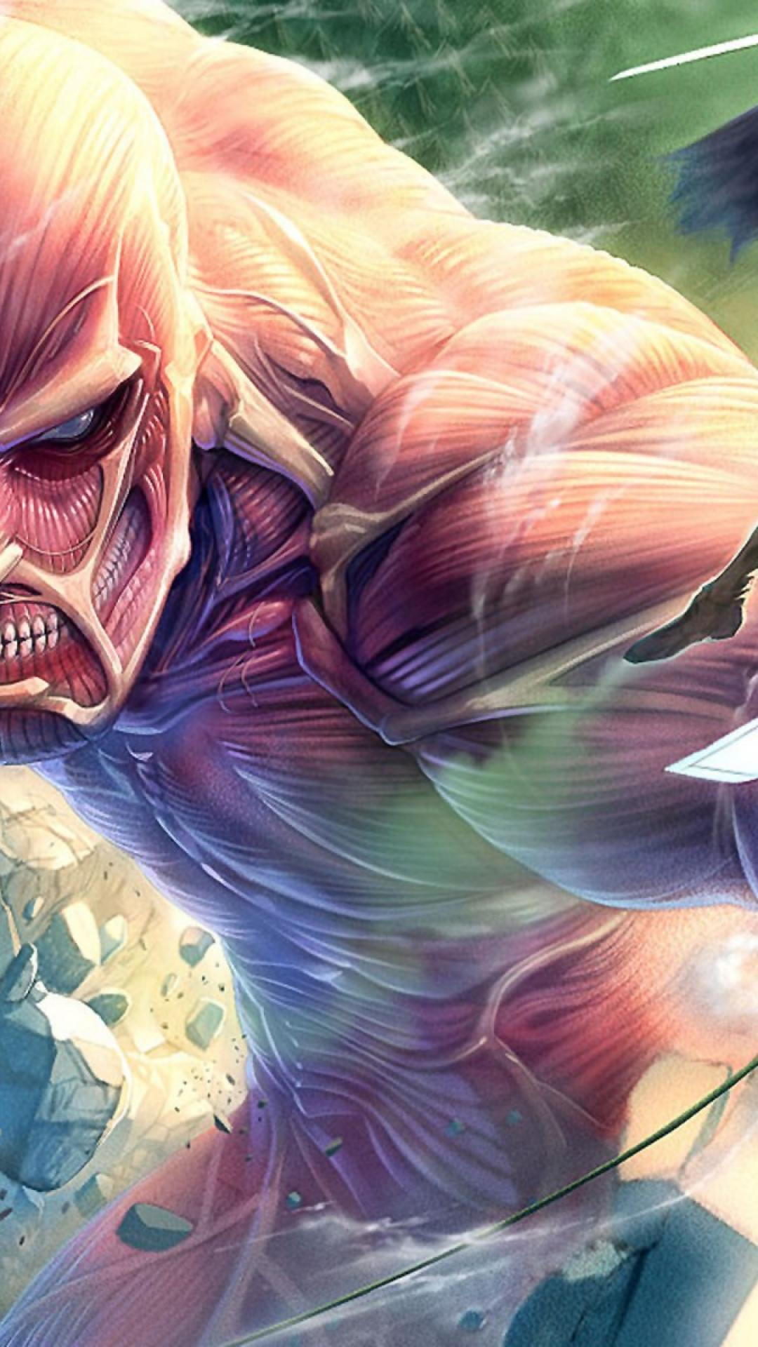 Attack On Titan Iphone Wallpaper