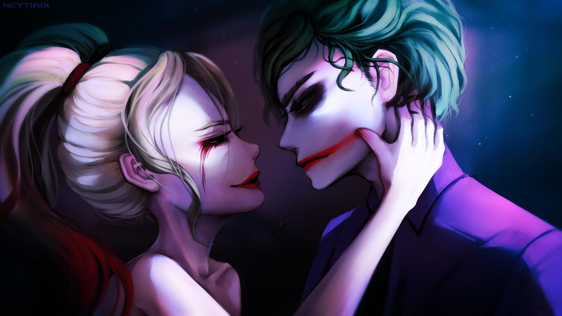 Joker And Harley Wallpaper Joker And Harley Quinn