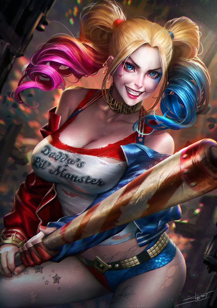 Harley Quinn Wallpaper Dump Female Batman Super Villains