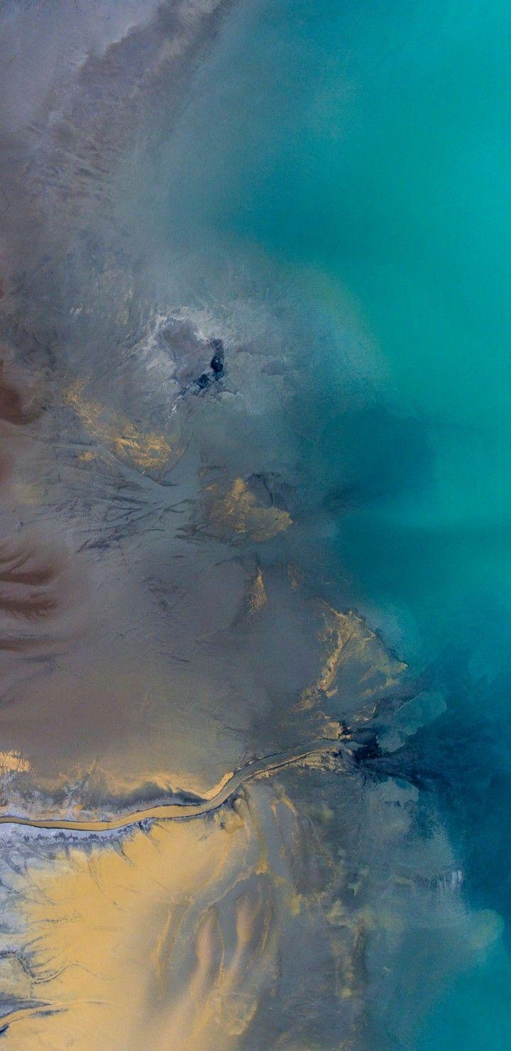 Ios 11, Iphone X, Aqua, Blue, Water, Beach, Wave, Ocean, - Apple Wallpaper Ios , HD Wallpaper & Backgrounds
