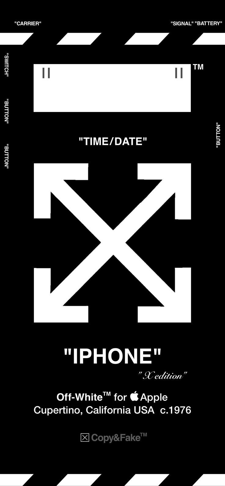 Off White Wallpaper For Iphone X Off White Apple Watch