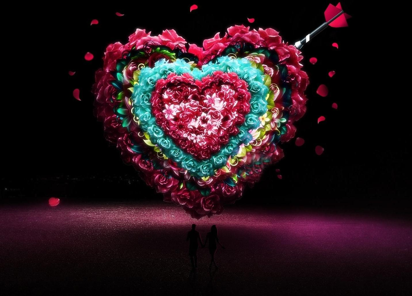 New Love Wallpaper Group With 41 Items Happy Valentines Day Hd