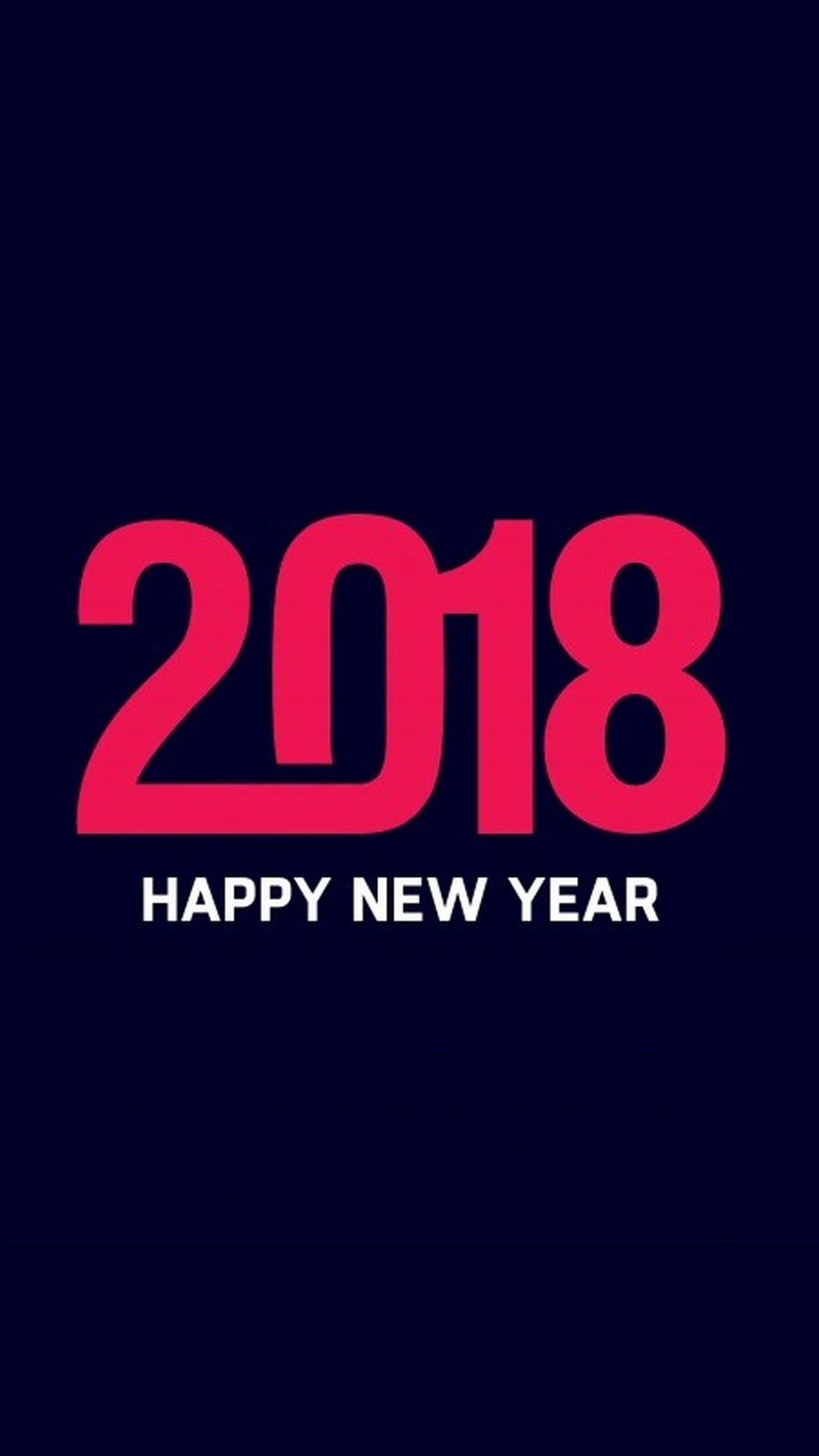 Iphone Wallpaper Happy New Year 2018 Text Resolution - Foundation , HD Wallpaper & Backgrounds