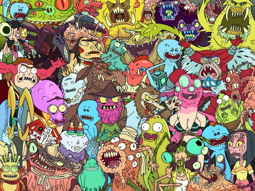 Meeseeks Look At Me Awesome Rick And Morty 24019 Hd