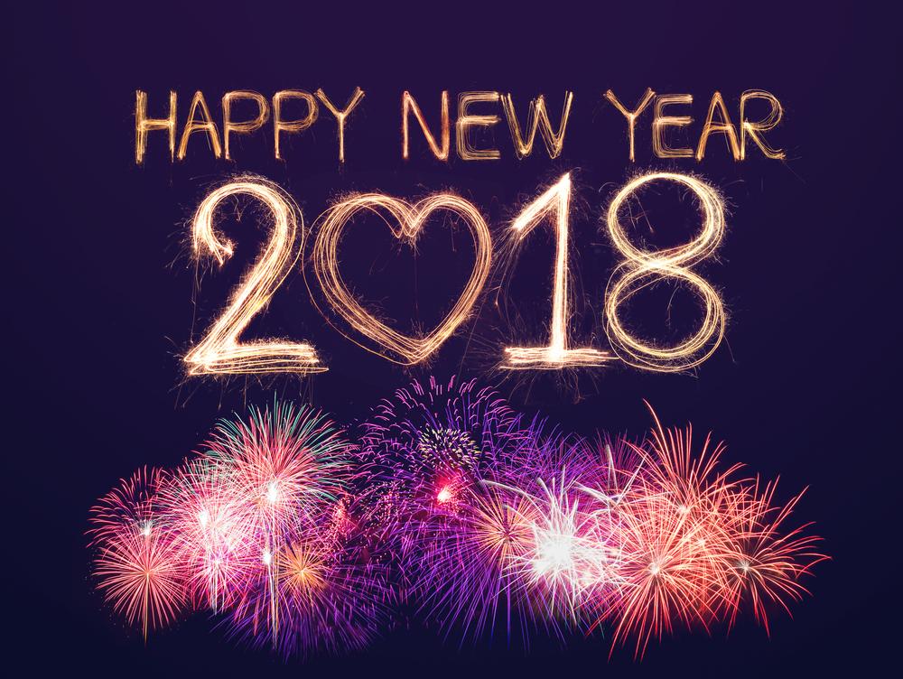 New Year 2018 Wallpaper Hd - Happy New Year 2018 Hd , HD Wallpaper & Backgrounds