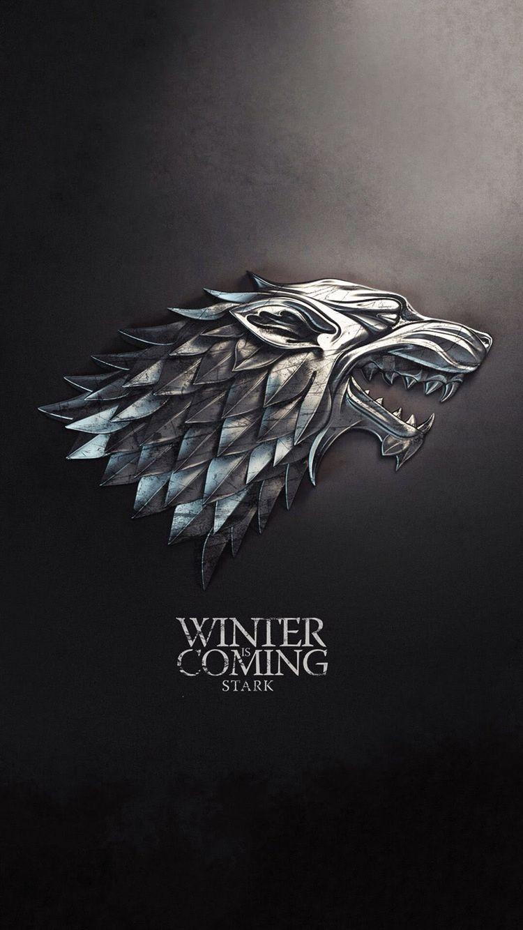 Iphone, Winter Is Coming, Game Of Thrones, Black - Game Of Thrones Pop Socket , HD Wallpaper & Backgrounds