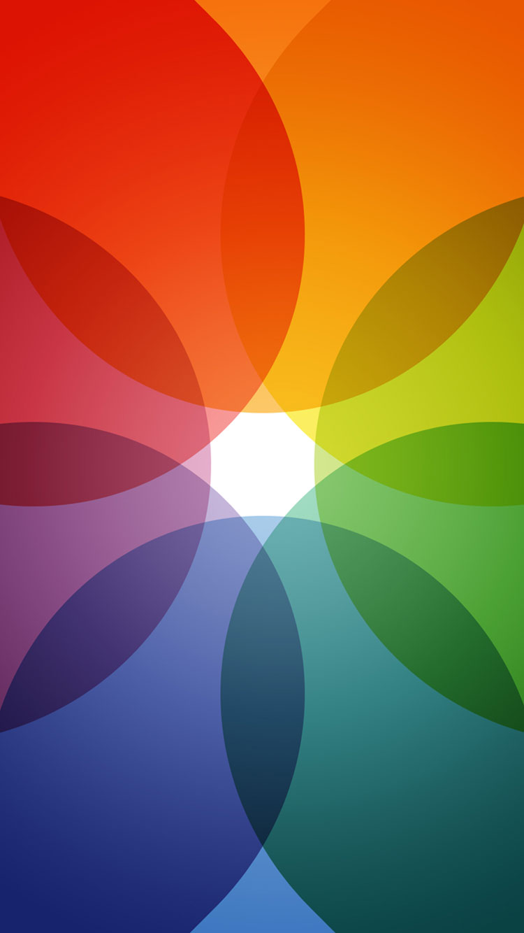 Best Ios 11 Wallpapers Rainbow Color Circle Pattern 25361 Hd Wallpaper Backgrounds Download