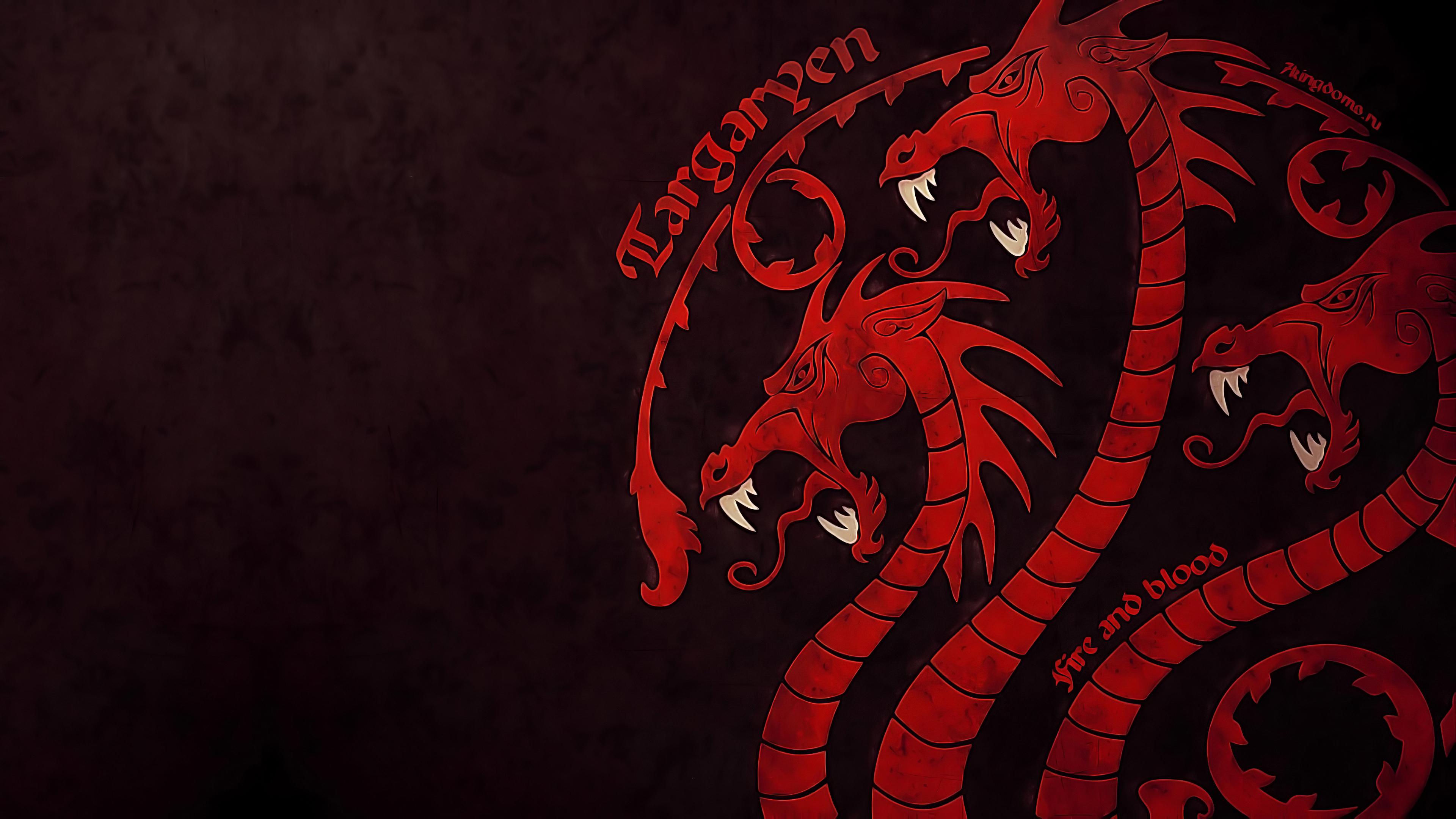 House - House Targaryen Background , HD Wallpaper & Backgrounds