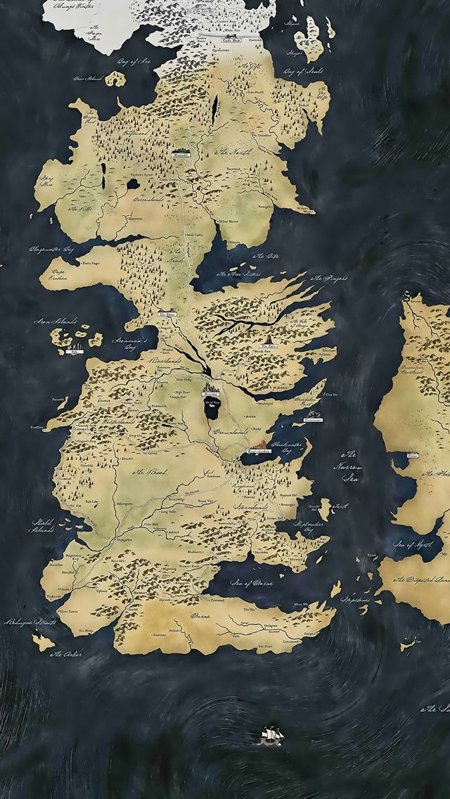 Game Of Thrones Wallpaper For Android - Mapa Game Of Thrones Hd , HD Wallpaper & Backgrounds